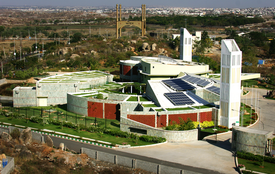 CII's Green Building Council's eco-friendly building was built using HIL's Aerocon Blocks and Panels