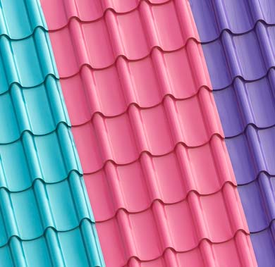 Roofing Coloured Steel Sheets