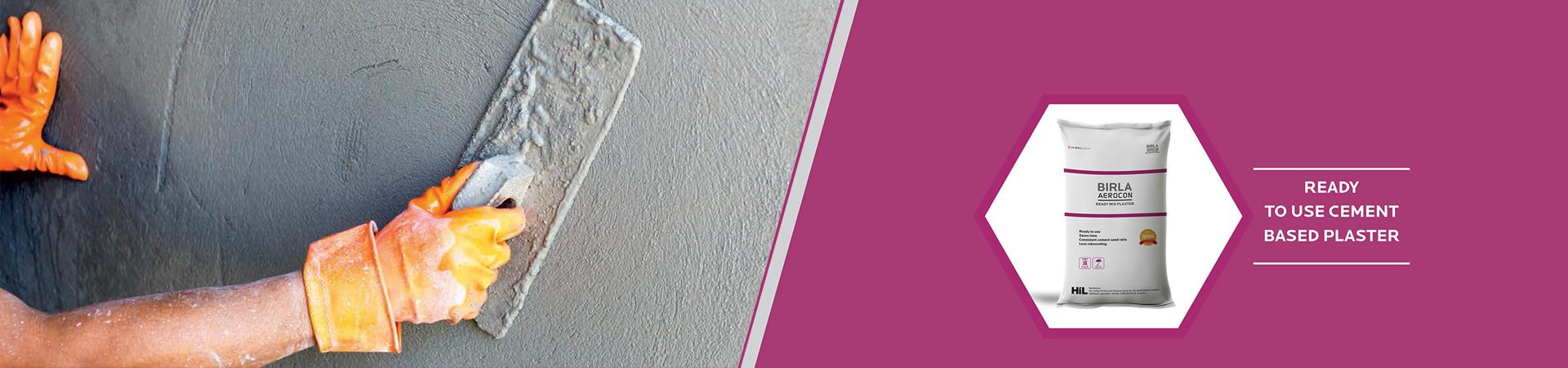 Birla Aerocon ready mix plaster